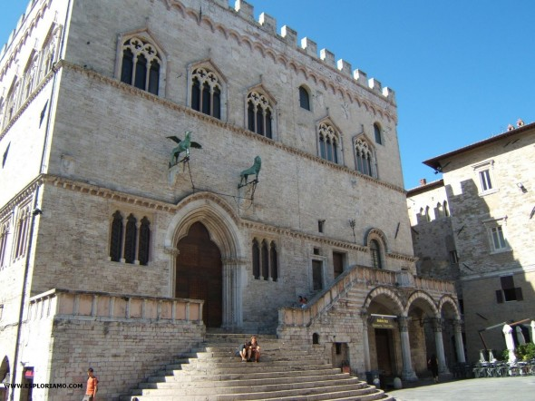 Il Palazzo dei Priori di Perugia