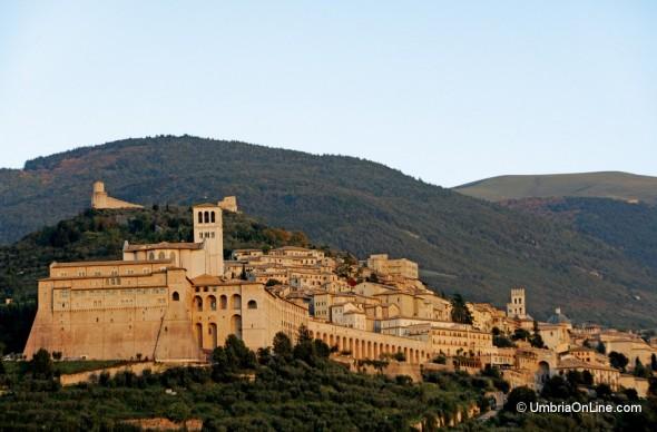 Vista su Assisi