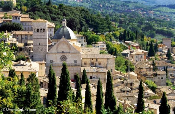 Piazza San Rufino ad Assisi