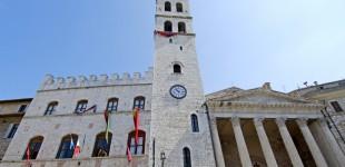 Assisi - Tempio di Minerva e Palazzo del Capitano del Popolo