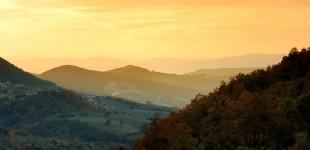 Assisi - Veduta panoramica dal Parco del Subasio