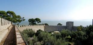 Castiglione del Lago - veduta dai merli del Castello del Leone