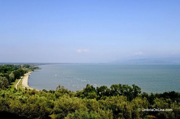 Scorcio lacustre di Castiglione del Lago