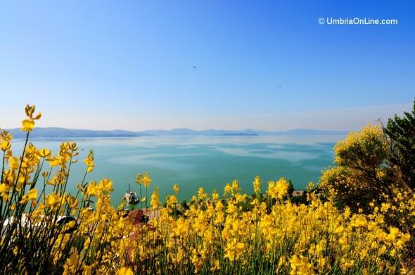 Vista sul Lago Trasimeno