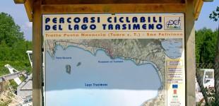 Lago Trasimeno - Percorsi ciclabili