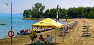 Lago Trasimeno - Spiaggia attrezzata