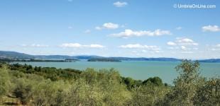 Lago Trasimeno - veduta sull'Isola Maggiore
