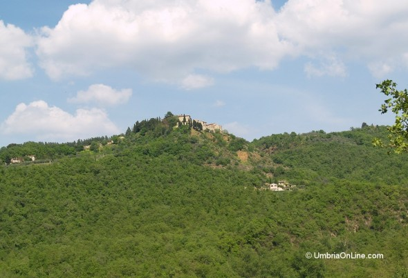 Veduta del borgo di Parrano