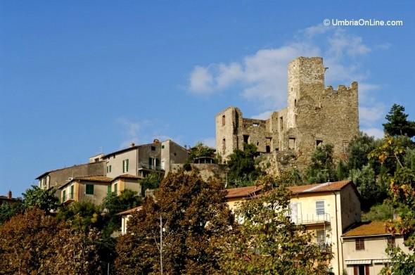 Resti della Rocca a Passignano sul Trasimeno