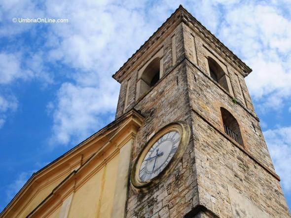 Campanile della Chiesa di Santa Cecilia ad Acquasparta