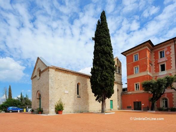 Vista della Chiesa di San Francesco ad Acquasparta