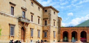 Acquasparta - Palazzo Cesi risalente al Cinquecento