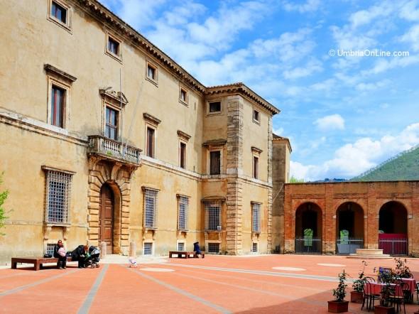 Interno del Palazzo Cesi ad Acquasparta