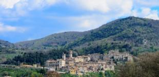 Acquasparta - Portaria, veduta panoramica